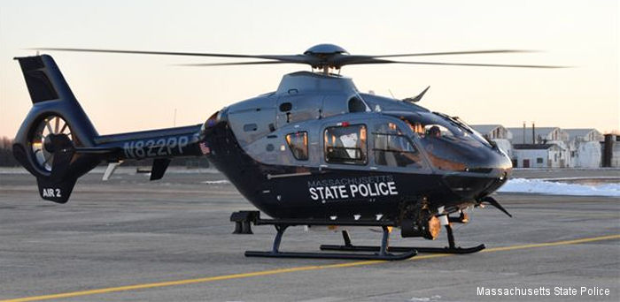 State of Massachusetts ec135