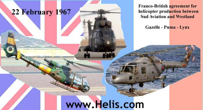 Franco British agreement helicopters