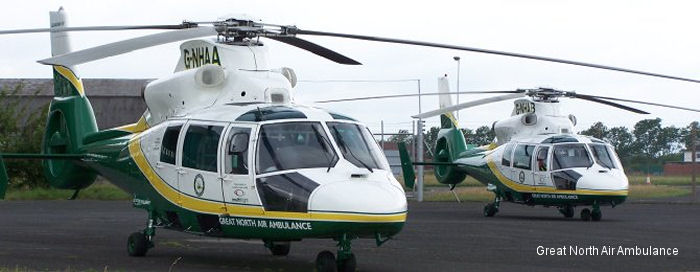 Great North Air Ambulance Service UK Air Ambulances