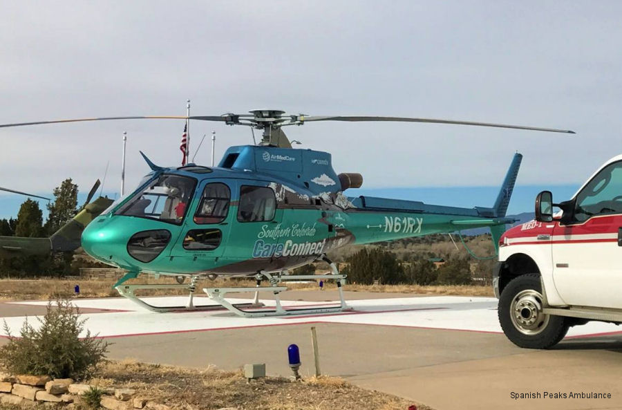 Airbus Helicopters H125 / AS350B3e Ecureuil c/n 8262