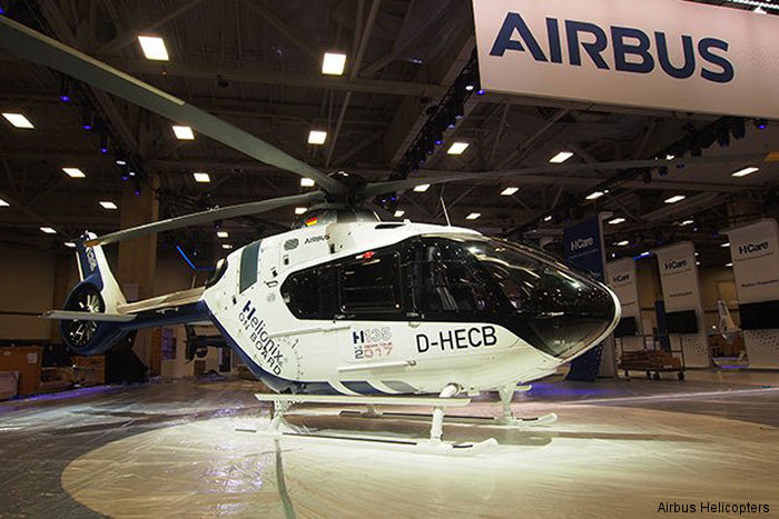 Helicopter Airbus Helicopters H135 / EC135T3 Serial 2006 Register D-HECB VH-UJB used by Airbus Helicopters Deutschland GmbH (Airbus Helicopters Germany) Microflite. Built 2018. Aircraft history