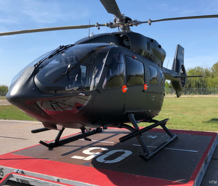 Helicopter Airbus Helicopters H145 / EC145T2 Serial 20206 Register D-HCCF used by Helicopter Travel Munich HTM. Aircraft history and location