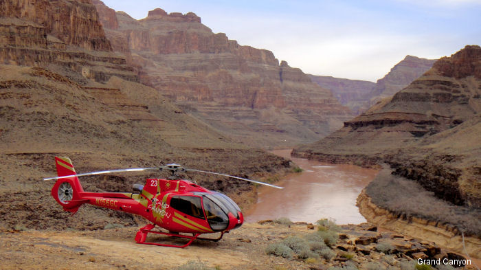 Helicopter Las Vegas Tour Papillon Grand Canyon