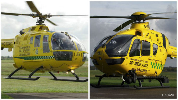 Hampshire and Isle of Wight Air Ambulance UK Air Ambulances