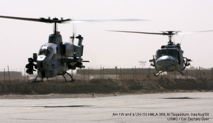 Marine Light Attack Helicopter Squadron 369 US Marine Corps
