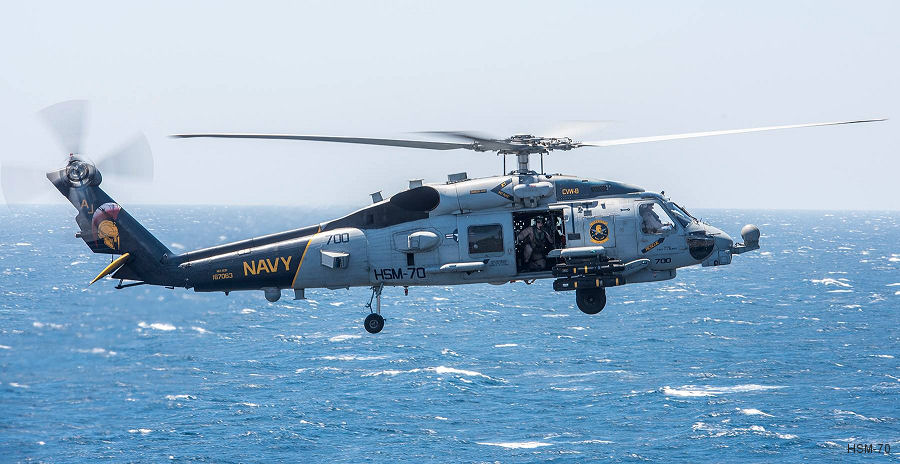 Helicopter Maritime Strike Squadron Seven Zero US Navy