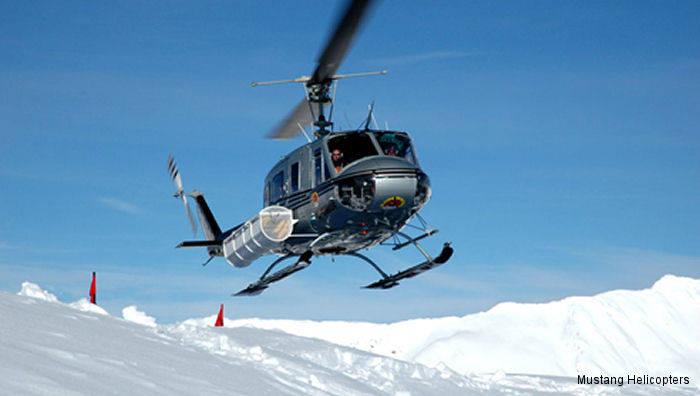 Mustang Helicopters 205