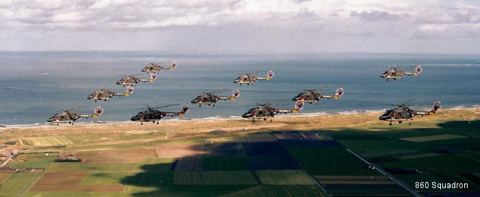 Photos of Lynx in Royal Netherlands Navy helicopter service.