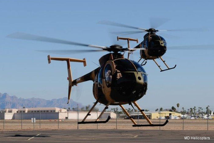 Afghan Air Force MD530F