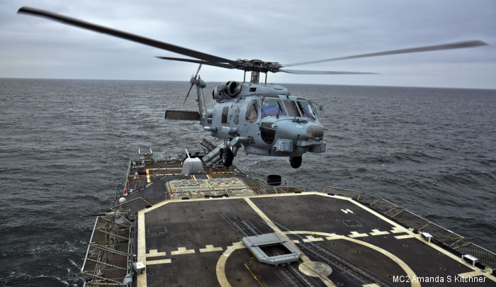 Helicopter Maritime Strike Squadron Four Eight US Navy