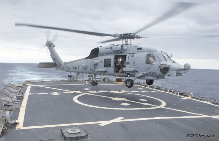 Sikorsky MH-60R Seahawk c/n unknown