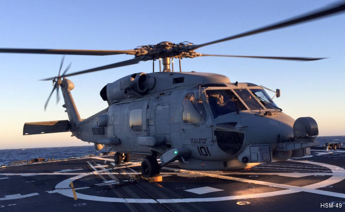 Helicopter Maritime Strike Squadron Four Nine US Navy