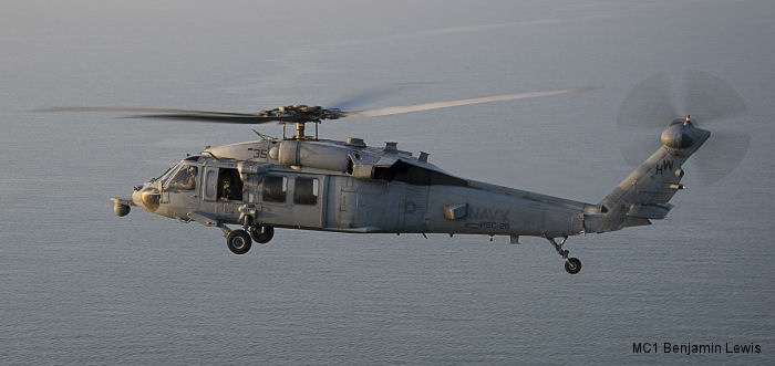 Helicopter Sikorsky MH-60S Seahawk Serial unknown Register 168541 used by US Navy USN (United States Naval Aviation). Aircraft history and location