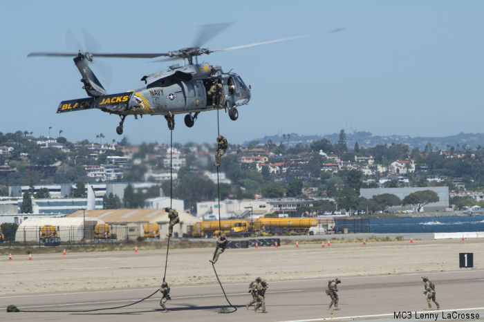 Helicopter Sea Combat Squadron Two One US Navy