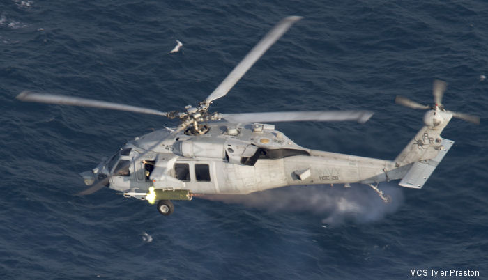 Helicopter Sea Combat Squadron Two Eight US Navy