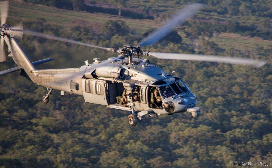 Helicopter Sikorsky MH-60S Seahawk Serial unknown Register 167869 used by US Navy USN (United States Naval Aviation). Aircraft history and location