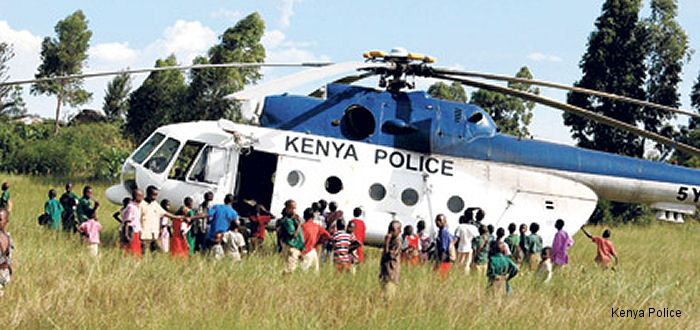 Kenya Police Mi-8/17 Hip (2nd Gen)