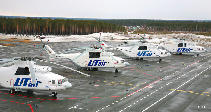 UTair Aviation Mi-26 Halo
