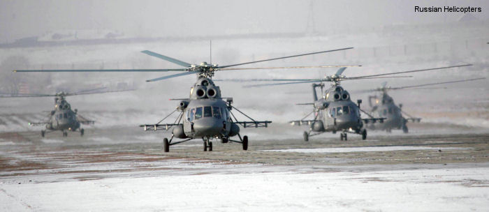 Russian Helicopters Mi-8/17 Hip (3rd Gen)