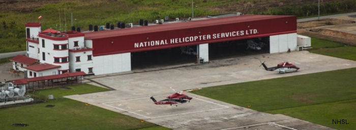 NHSL National Helicopter Services Ltd of Trinidad and Tobago