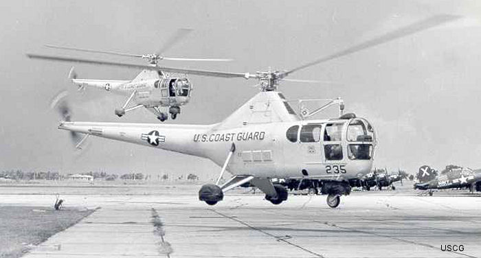 US Coast Guard S-51 / R-5 / H-5