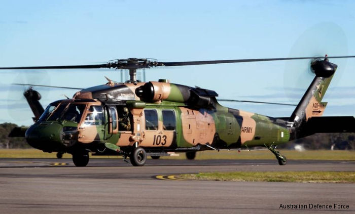 Australian Army Aviation S-70A-9 Black Hawk