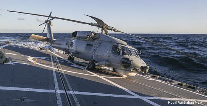 Fleet Air Arm (RAN) S-70B-2 Seahawk