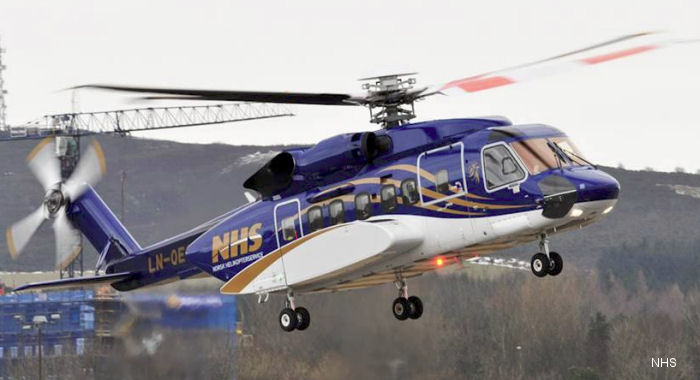 Norsk Helikopterservice s-92 Helibus