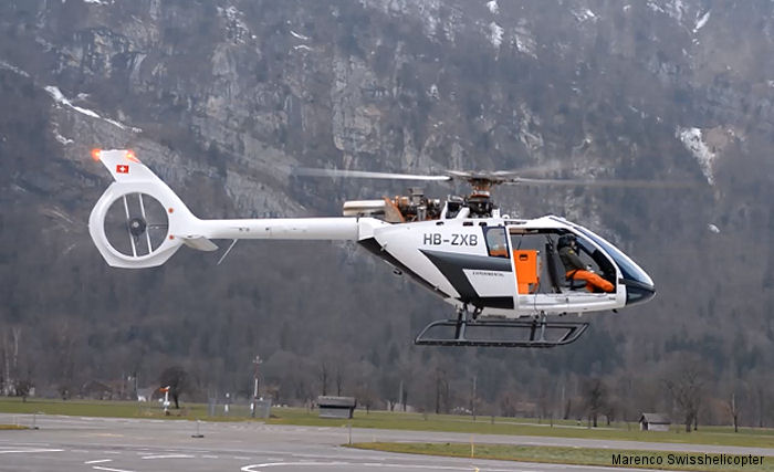 Used Drones For Sale >> HB-ZXB Marenco SwissHelicopter SKYe SH09 C/N 02 ...