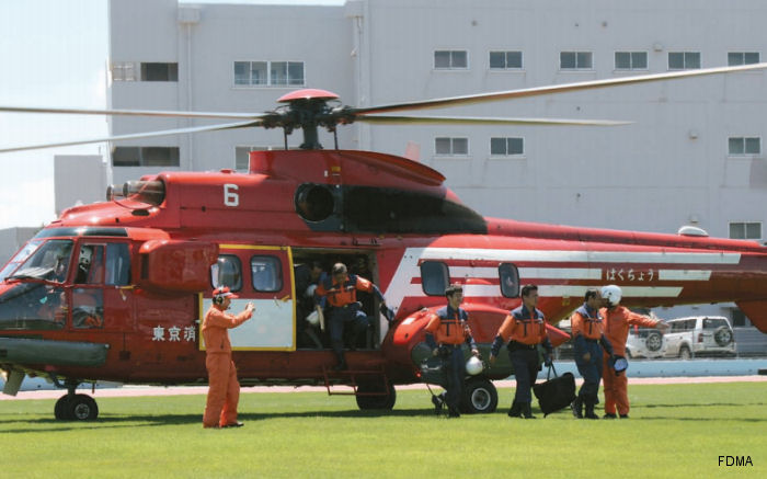 Fire and Disaster Management Agency Super Puma/Cougar
