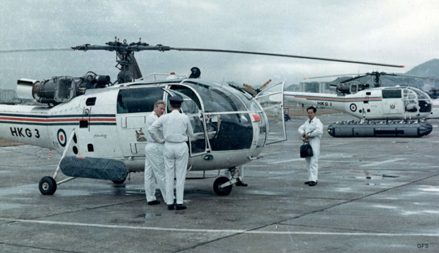 Royal Hong Kong Auxiliary Air Force Alouette III