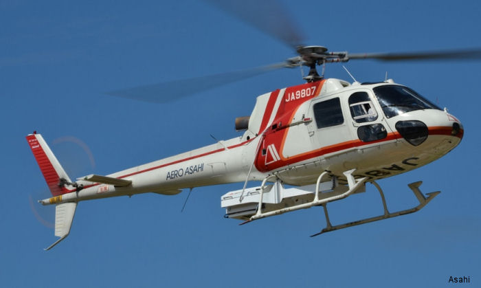 Aero Asahi Corporation AS350 Ecureuil