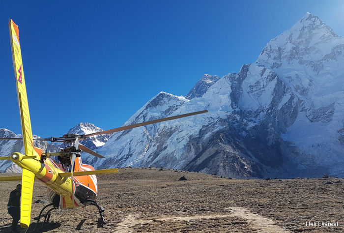 Heli Everest AS350B3e Ecureuil