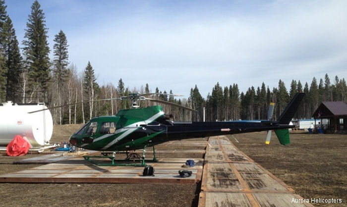 Wood Buffalo Helicopters AS350 Ecureuil
