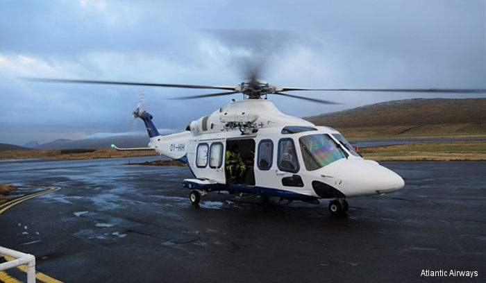 Atlantic Airways AW139