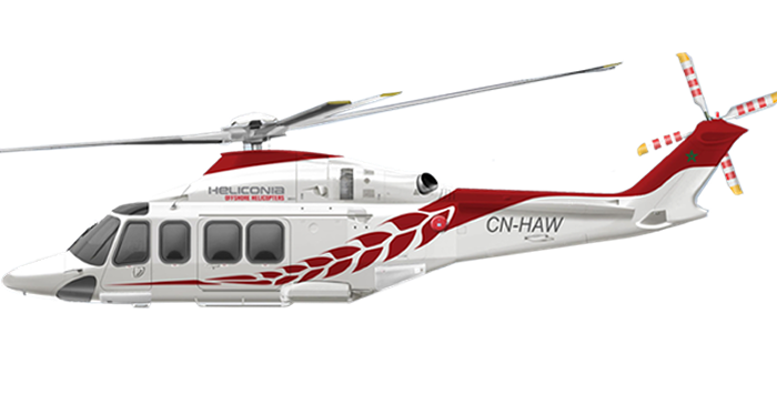 art profile perfil side view AW139