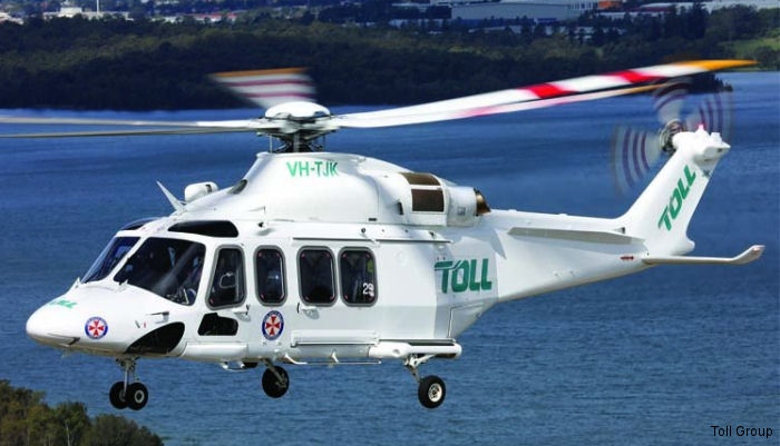 Toll Group AW139