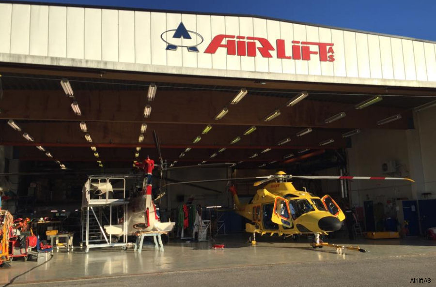 Airlift AS AW169