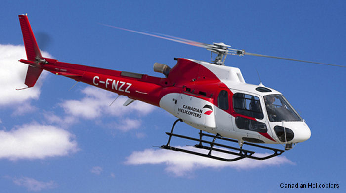 Canadian Helicopters AS350 Ecureuil