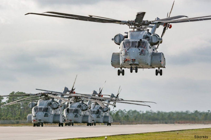 Sikorsky Helicopters CH-53K King Stallion