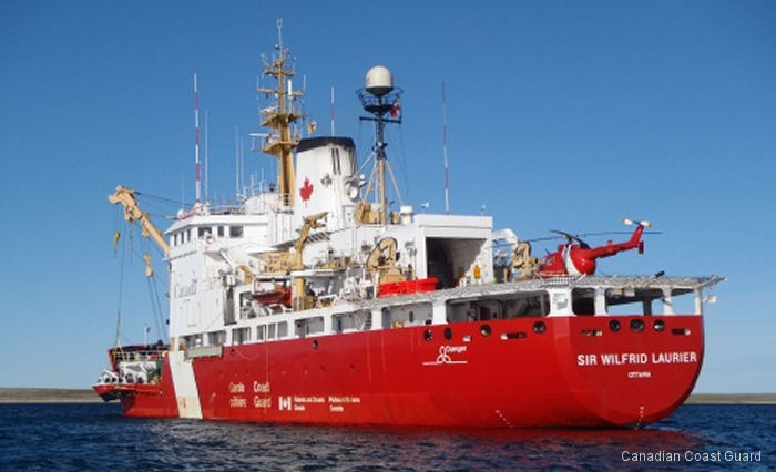Canadian Coast Guard ships