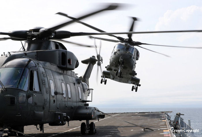 Fleet Air Arm Merlin HC.3i