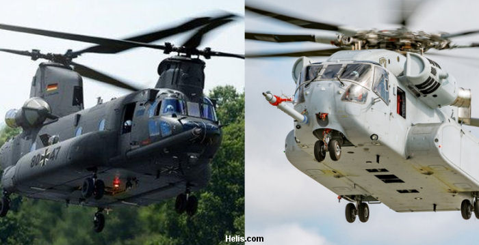 Germany Heavy Lift Helicopter STH programme