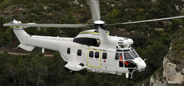 Air Center Helicopters H215 / AS332C1e / AS332L1e