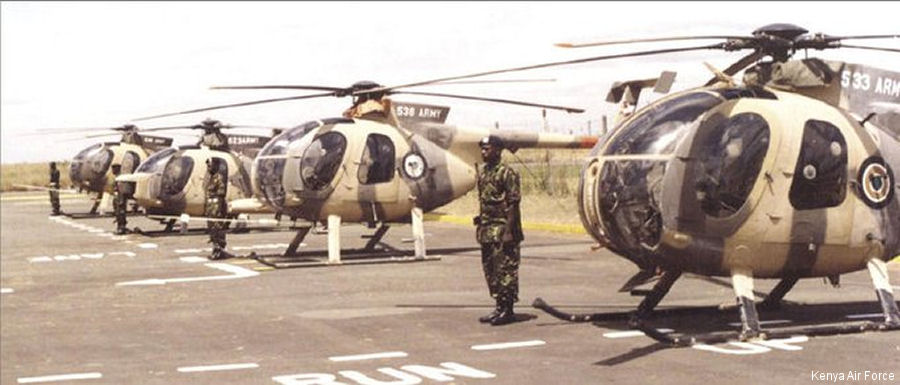 Kenya Air Force 369D / 500D