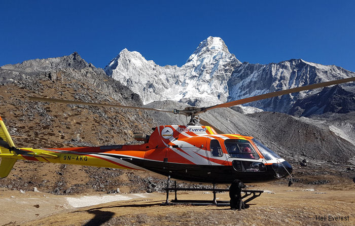 heli everest