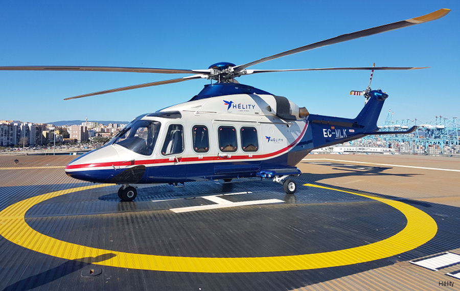 Hélity Copter Airlines AW139