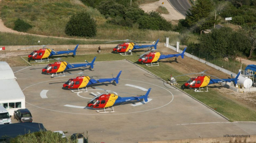 HTA Helicopteros AS350 Ecureuil