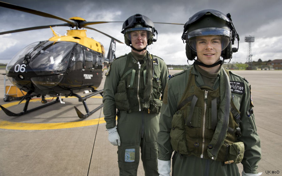 Photos of H135 / EC135T3 in Ministry of Defence (MoD) helicopter service.