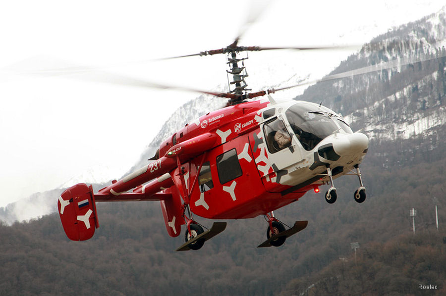 Russian Helicopters Ka-226T